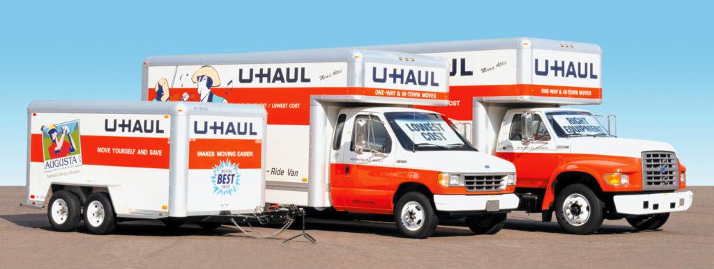 uhaul moving truck rental